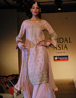 Pakistani brand Karma in Bridal Asia in India