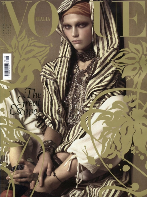 Cover of Vogue Italy's May Issue