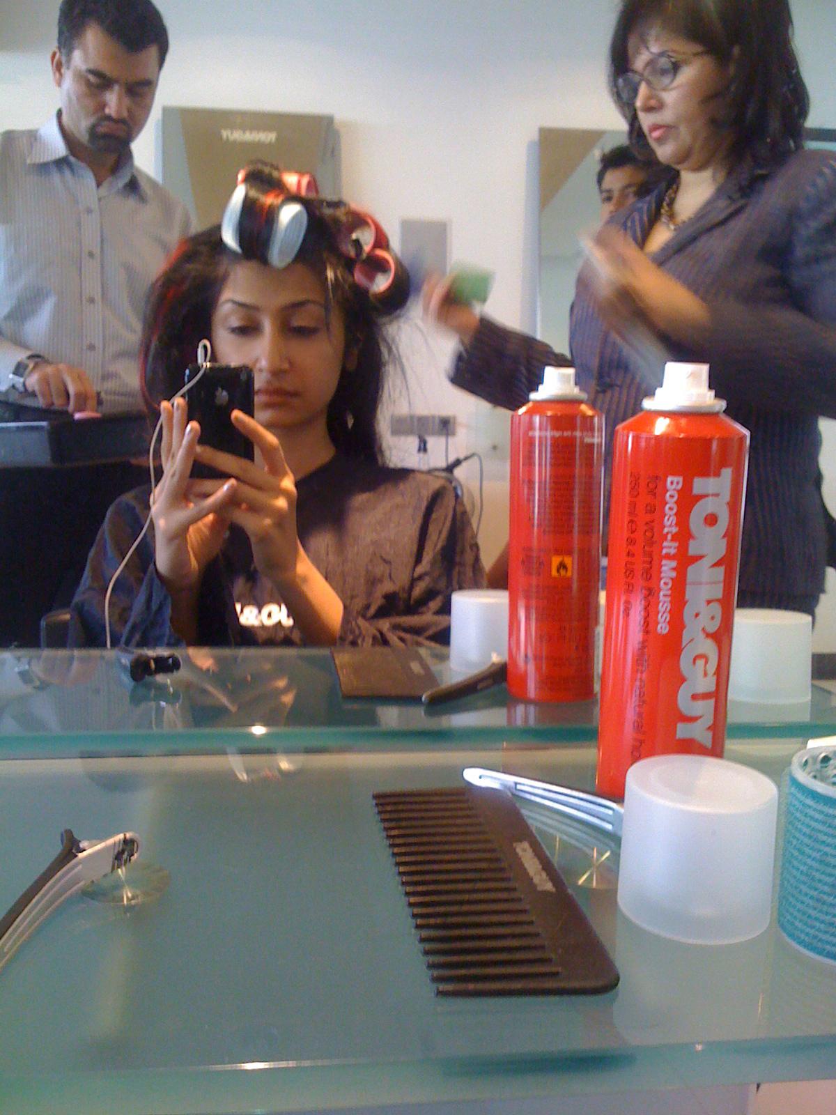 Toni Guy Essensuals Salon Launch In Karachi The Fashioneasta Cut — color — style. toni guy essensuals salon launch in