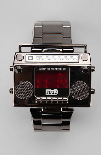 FludBoombox watch $90