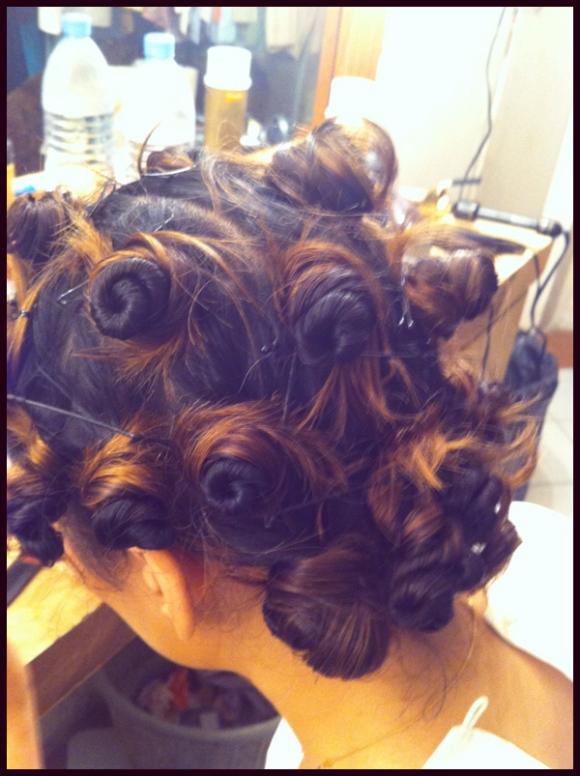 Zoe Viccaji Hair Styling by Hira Tareen - Tousled look