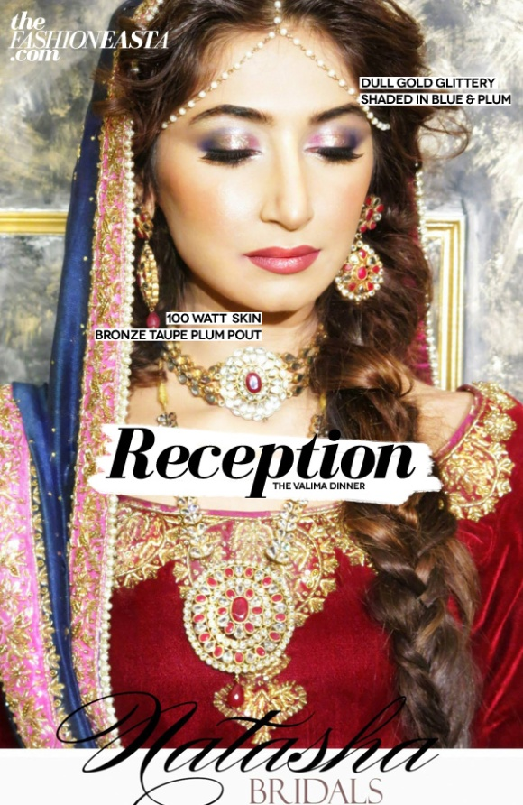 Hira Tareen's Valima Make-up